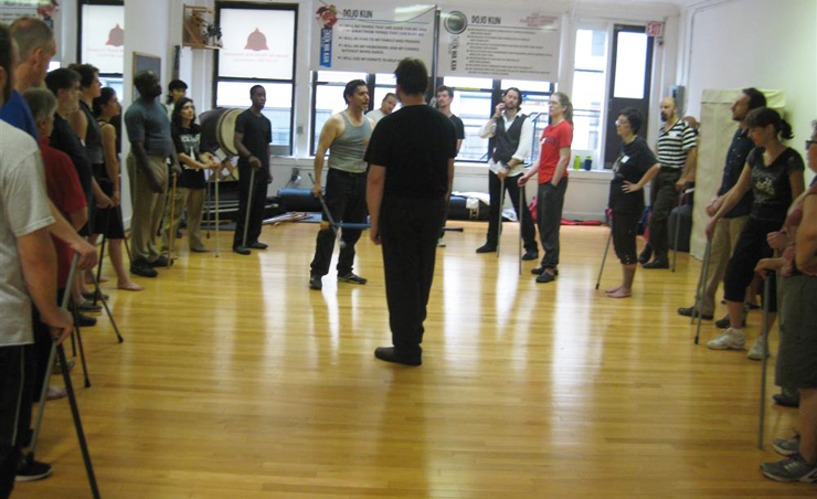 [Bartitsu Club of NYC July 2012 Seminars with Mark P. Donnelly]
