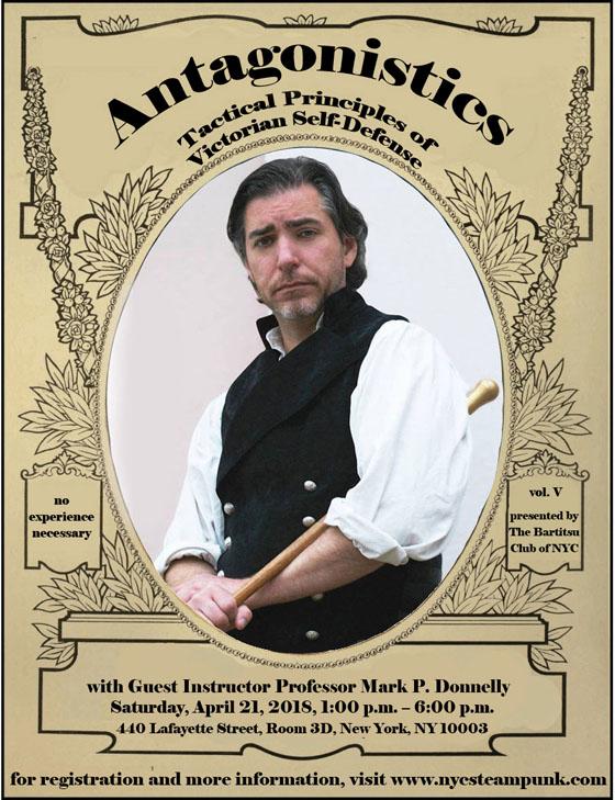 Antagonistics - Tactical Principles of Victorian Self-Defense