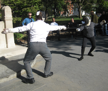 [Duelling in Old Gotham October 2011]