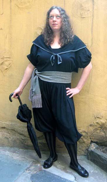 [Edwardian Gym Dress Project]