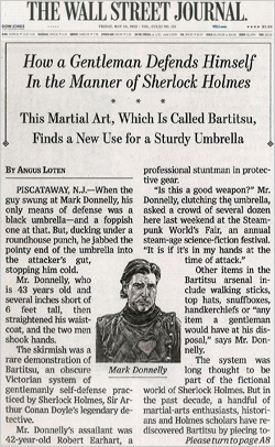 [Bartitsu: The Lost Martial Art of Sherlock Holmes]