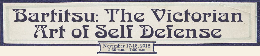[Bartitsu Workshop with Mark Donnelly - November 17-18, 2012 in NYC]