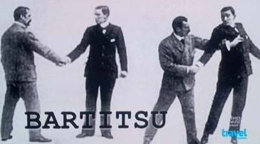 [Bartitsu Club of NYC March 2013 Travel Channel film shoot]